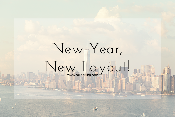 New Year, New Layout!