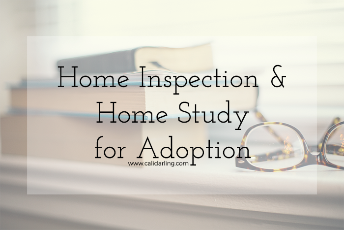Home Inspection & Home Study for Adoption